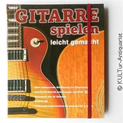 Gitarre spielen leicht gemacht [mit Begleit CD+DVD]. - Freeth, Nick