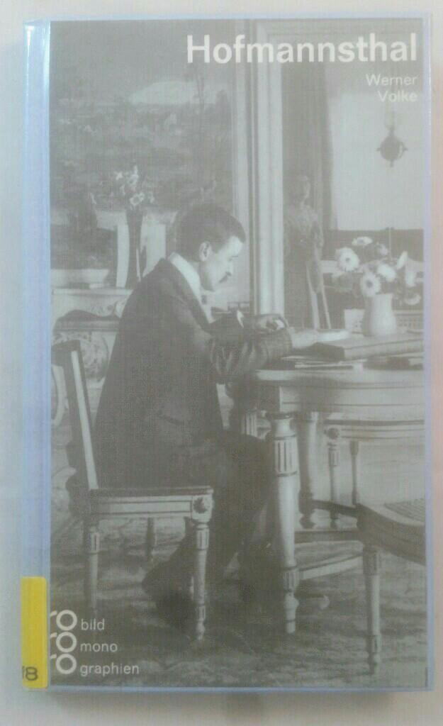 Hugo von Hofmannsthal. Monographie. - Volke, Werner