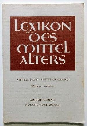 Lexikon des Mittelalters 4. Band. 3. Lieferung.: Diverse: