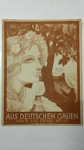 Aus Deutschen Gauen Album für Frohe Kreise.