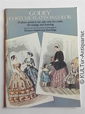 Godey Costume Plates in Color for Decoupage and Framing.