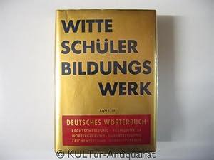 Witte Schülerbildungswerk Bd. III. Deutsches Wörterbuch.: Specht, Georg: