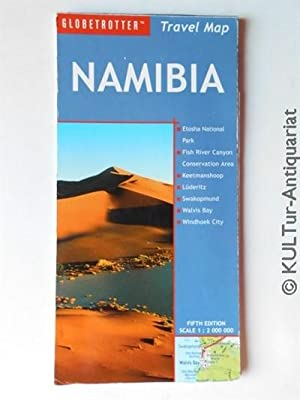 Namibia Travel Map (Globetrotter Travel Map).