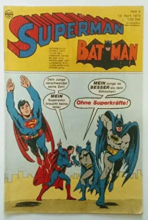 Superman Heft 8. 1974.