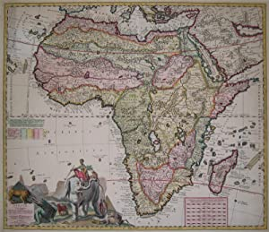 Africae in tabula geographica delineatio: A. F. Zürner