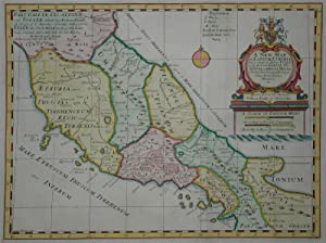 A New Map of Latium Etruria and as much of Antient Italy as lay Between Gallia Cisalpina and Grae...