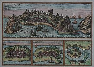 Aden - Mombaza - Quiloa - Cefala: Johannes Janssonius (1588