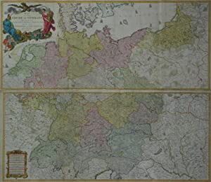 Map of the Empire of Germany, including all the States comprehended under that Name: With the Kin...