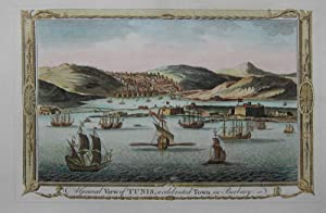 A general view of Tunis, a celebrated Town in Barbary