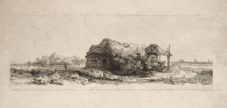 1 Original -Kupferstich nach Rembrandt (um 1767).: Smith, George and