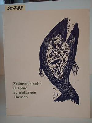 Zeitgenössische Graphik zu biblischen Themen. Ausstellung in Darmstadt, Kunsthalle, 17. November ...
