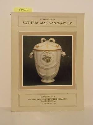 Catalogus 374-B. Chinese, Japanse en Europese Ceramiek,: Sotheby Mak van