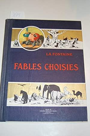 Fables choisies de La Fontaine.