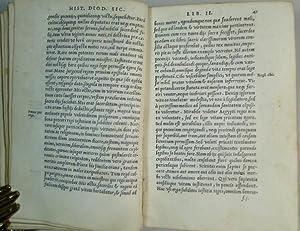 Diodori Siculi historici clarissimi, bibliothecae,seu rerum antiquarum tum fabulosarum tum verarum ...