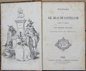 Histoire de Gil Blas de Santillane raconté: Fournier Ortaire