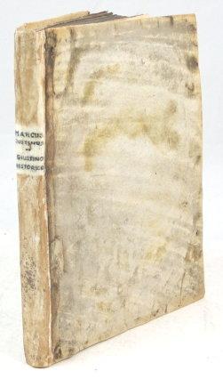 Giustino historico nelle historie di Trogo Pompeo,: Marcus Justinus.