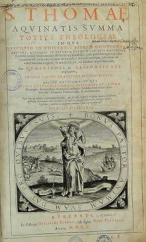 Summa totius theologiae [.].: AQUINO, Thomas ab