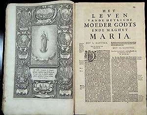 Generale legende der heylighen met het leven Iesu Christi ende Marie. Het eerste deel.: Ribadineira...