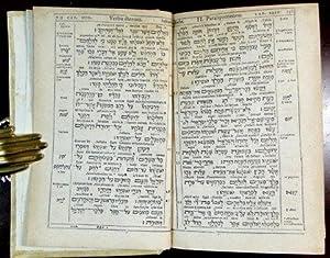 Psalmi Davidis Hebraici, cum interlineari versione Xantis