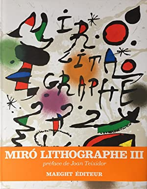 Miró lithographs (lithographies) III, 1964-1969
