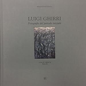Ghirri, Luigi. Fotografie del periodo iniziale.