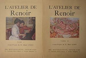 Renoir, Piere-Auguste. L'Atelier de Renoir. Tome I