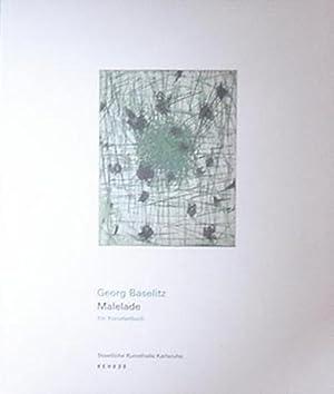 Baselitz, Georg. Malelade. Ein Künstlerbuch.