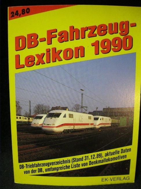 DB - Fahrzeug - Lexikon 1990