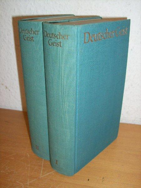 2Bände: Deutscher Geist - Ein Lesebuch aus: Keller Nietzsche T.
