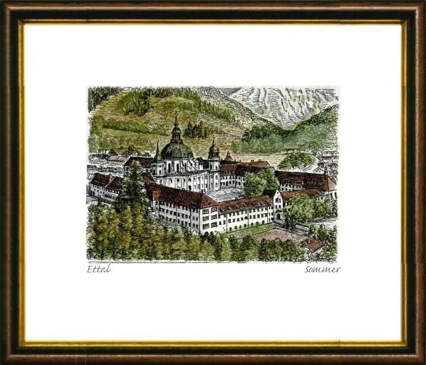 kloster ettal - ZVAB
