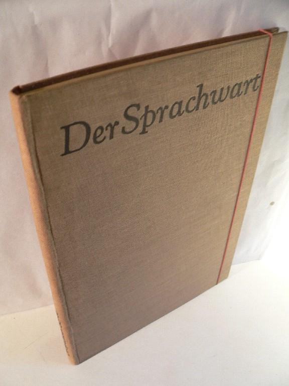 Der Sprachwart. Monatsblätter für Sprachpflege und ...