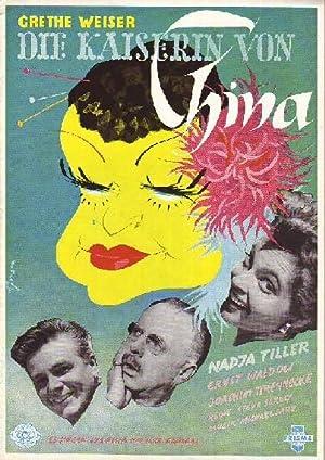 Die Kaiserin von China. CCC-Film mit Grethe