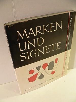 Marken und Signete. 471 Firmenzeichen und Schutzmarken,: Finsterer-Stuber, Gerda: