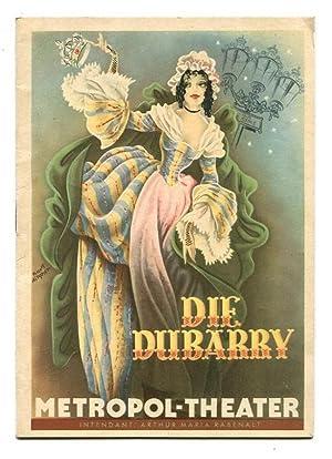 Gräfin Dubarry - Operette in 3 Akten: Millöcker, Carl und