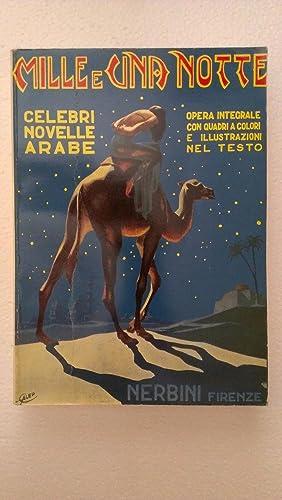 MILLE E UNA NOTTE. Novelle arabe. Opera: Various Authors