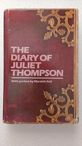 The Diary of Juliet Thompson: Juliet Thompson