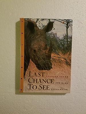 Last Chance to See/Mac CD-ROM: Douglas Adams and Mark Carwardine