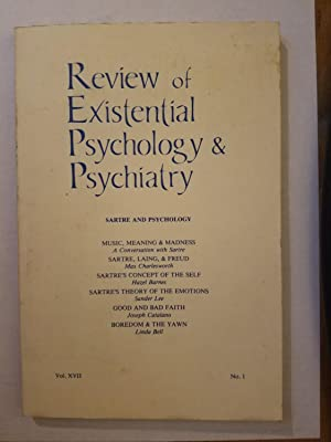 Review Existential Psychology Psychiatry - AbeBooks