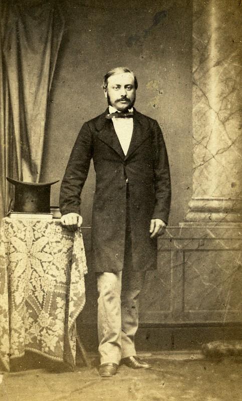 France_Vesoul_Professor_Ernest_Jule_Bourquin_Signed_old_CDV_Photo_Nedzinsky_1865_NEDZINSKY__
