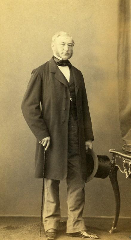 France_Mayenne_Figure_Laval_Eugene_Porriquet_Autograph_Old_CDV_Photo_Ken_1865_KEN__
