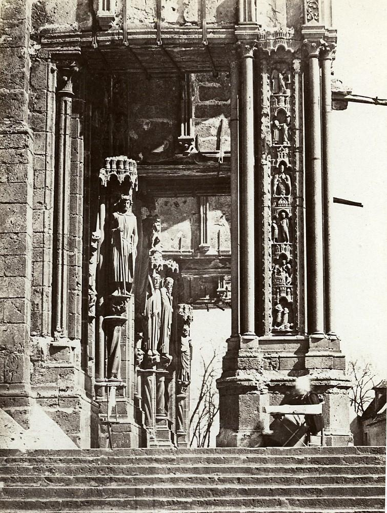 Chartres_Cathedrale_South_Porch_France_Old_Photo_Bisson_1858_Frères_BISSON_[_]