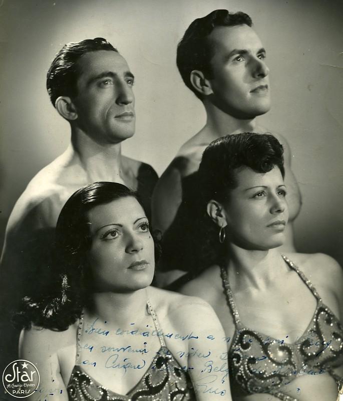 France_Roubaix_Music_Hall_Circus_Artist_Autograph_Old_Photo_1960_STAR_STUDIO__