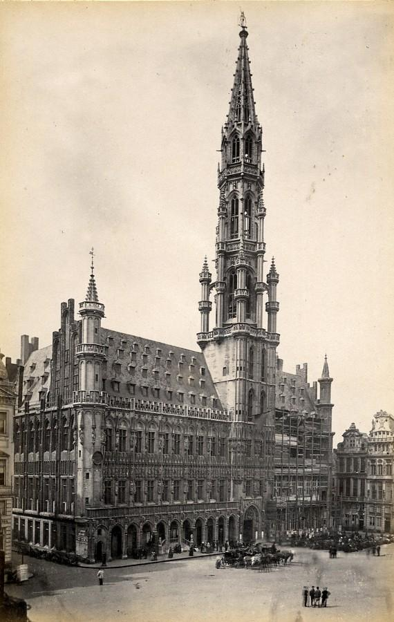 Old brussels city hall