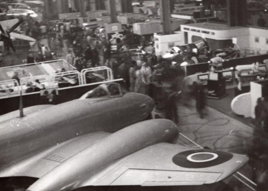 I Fotografie Flugzeug Meteor Trent F Mk Großformat 25 X 20cm