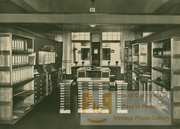 Leipzig Office Supplies Bürobedarf Exhibit Photo 1930 Von Anonymous
