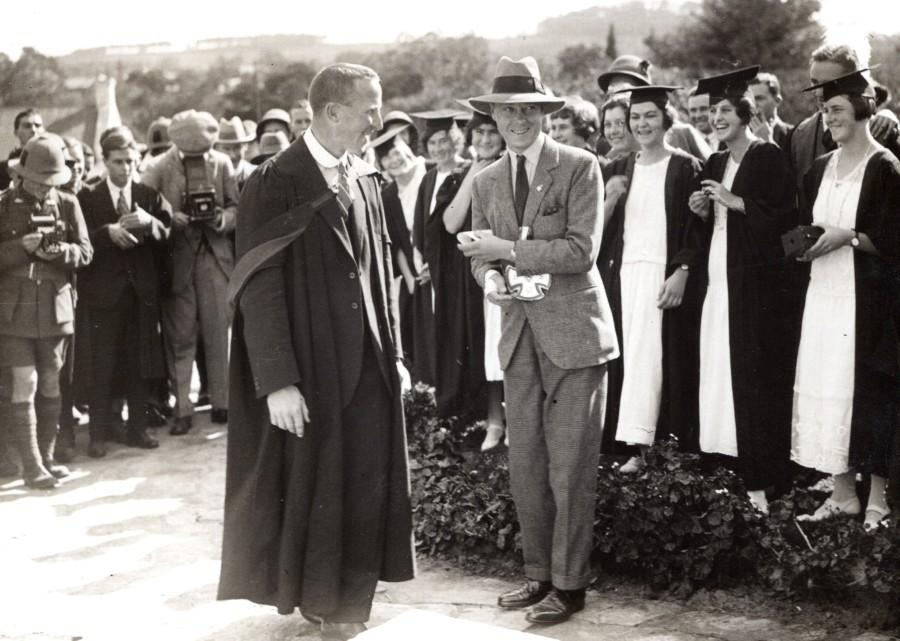 South_Africa_Grahamstown_Prince_of_Wales_Rhodes_University_old_Press_Photo_1925_NEWS_SERVICE_Misc__
