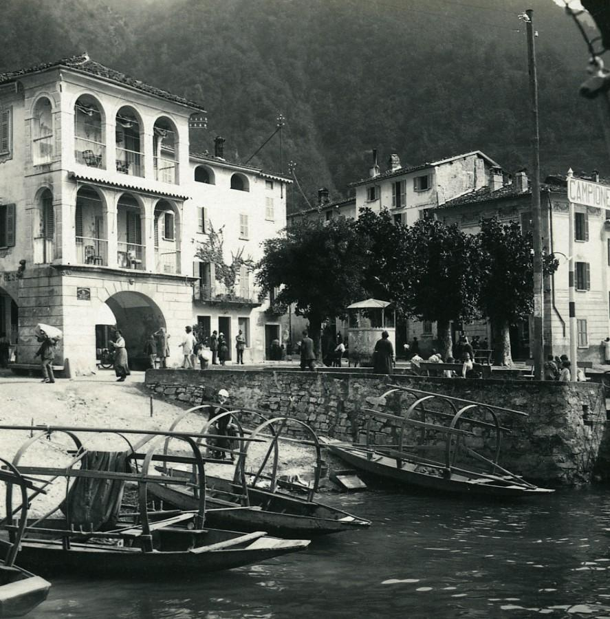 Italy_Lake_Lugano_Campione_harbor_Old_Possemiers_Stereoview_Photo_1900_POSSEMIERS_[_]