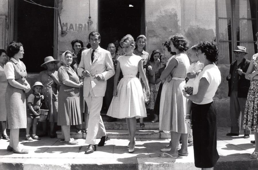 La_LondelesMaures_Roger_Vadim_Annette_Stroyberg_Wedding_old_Photo_1958_NEWS_SERVICE_Misc__