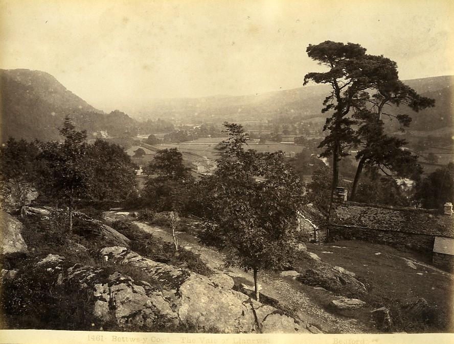 Wales_Betws_y_Coed_vale_of_Llanrwst_Old_Photo_Bedford_circa_1870_Francis_BEDFORD__