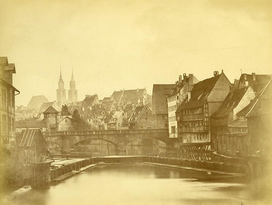 Germany_Nuremberg_Max_Brucke_Bridge_Old_Photo_circa_1868_ANONYMOUS__